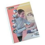 Fellowes 53154 A4 Plastic Transparent,White 100pc(s) binding cover