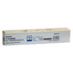 Toshiba T-FC26SC 5000pages Cyan laser toner & cartridge