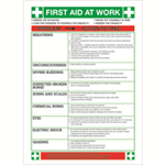 FSMISC SIGN FIRST AID AT WORK