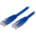 StarTech.com 10 ft Cat 6 Blue Molded RJ45 UTP Gigabit Cat6 Patch Cable - 10ft Patch Cord