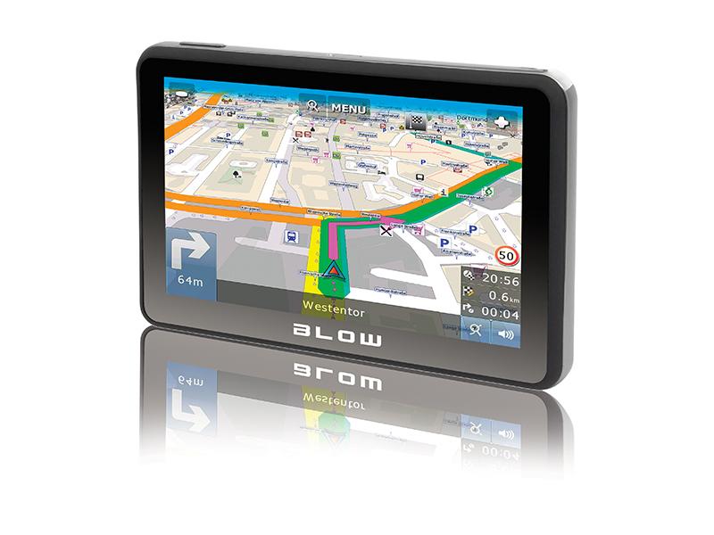 "BLOW 78-215# navigator 17.8 cm (7"") Touchscreen TFT Fixed Black"