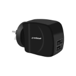 mBeat ® Gorilla Power Duo 3.4A Dual USB Ports Smart Charger - Charge 2 Smartphones or Tablets Simultaneous