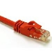 C2G 0.5m Cat6 Snagless CrossOver UTP Patch Cable cable de red 0,5 m Rojo