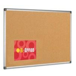 Bi-Office ALUM FRAME CORK BRD 1200X900MM