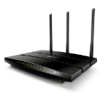 TP-LINK Archer A7 router inalámbrico Doble banda (2,4 GHz / 5 GHz) Gigabit Ethernet Negro