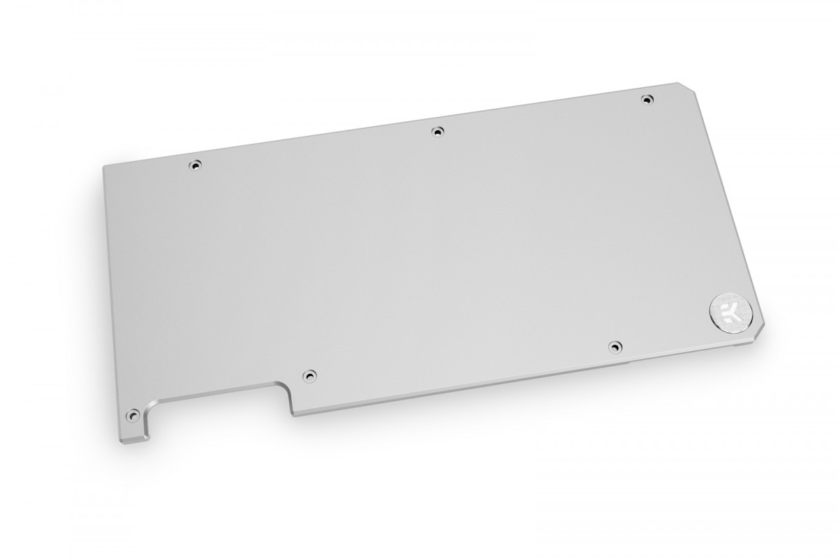 EK Water Blocks 3831109832639 computer cooling component Graphics card Backplate Silver
