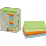 Post-It 655-1RPT self-adhesive note paper Rectangle Multicolour 100 sheets