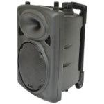 Qtx 178.840UK loudspeaker 2-way 100 W Black Wired