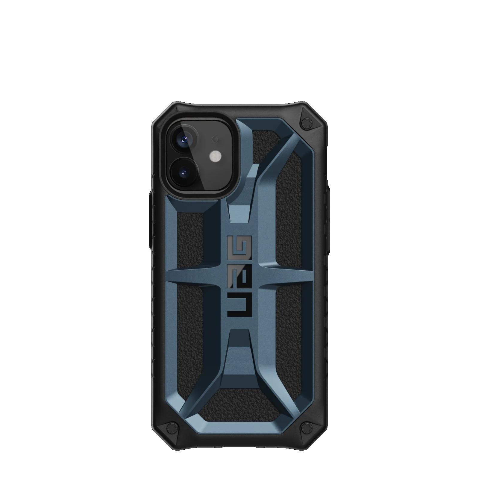 "Urban Armor Gear Monarch funda para teléfono móvil 13,7 cm (5.4"") Negro, Azul"