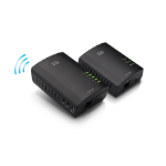 Linksys PLWK400 200Mbit/s Ethernet LAN Wi-Fi Black 2pc(s) PowerLine network adapter
