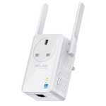 TP-LINK (TL-WA860RE) 300Mbps Wall-Plug Wifi Range Extender AC Passthrough 1 LAN
