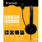 Verbatim 49123 Binaural Head-band Black headset