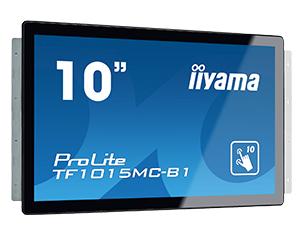 """iiyama ProLite TF1015MC-B1 10.1"""" 1280 x 800pixels Multi-touch Black touch screen monitor"""