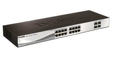 D-Link DGS-1210-20 switch Gestionado L2 Negro 1U