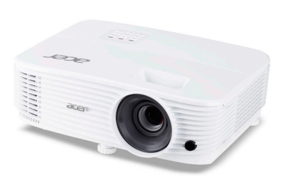 Acer P1355W data projector 4000 ANSI lumens DLP WXGA 1280x800 Ceiling-mounted projector White