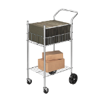 Fellowes 4092001 janitor cart
