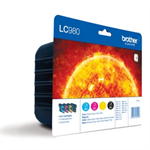 Brother LC-980VALBP Ink cartridge multi pack, 360pg + 3x260pg, Pack qty 4 LC980VALBP