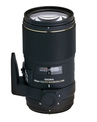 Sigma 150mm F2.8 EX DG OS HSM APO Macro SLR Macro lens Black
