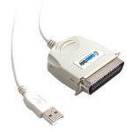 """C2G Port Authority USB IEEE-1284 Parallel Printer Adapter Cable 6ft printer cable 72"""" (1.83 m)"""