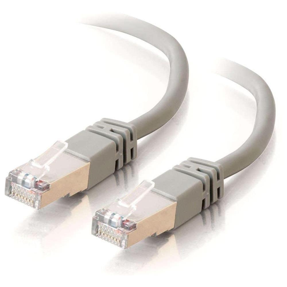 C2G Cat5E STP 10m cable de red U/FTP (STP) Gris