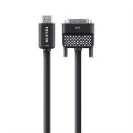 Belkin HDMI-DVI-D 1.8m 1.8m HDMI DVI-D Black