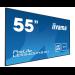 "iiyama LE5540UHS-B1 signage display 138.7 cm (54.6"") LED 4K Ultra HD Black"