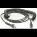 Zebra USB A/Series A, M/M, 4.57m