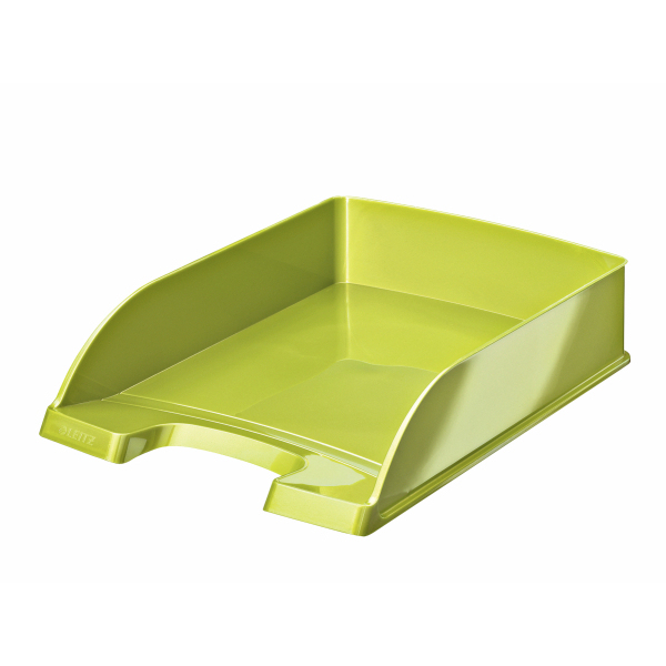 Leitz WOW desk tray Polystyrene Green