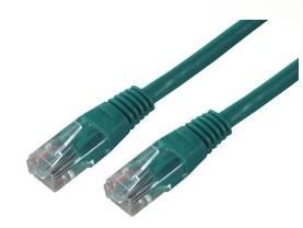 MCL FCC5EM-3M/V cable de red Verde