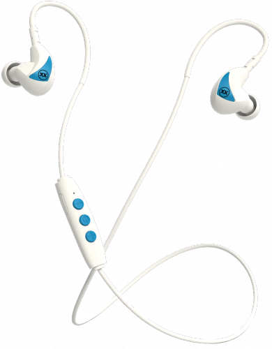 Radiopaq Mixx Memory FIT 2 Headset Ear-hook,In-ear White