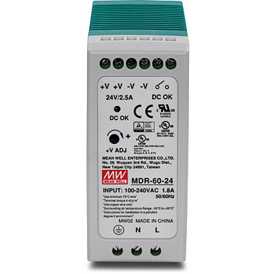 Trendnet TI-M6024 v1.0R network switch component Power supply