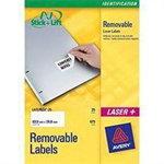 Avery L4737REV-25 self-adhesive label White 675 pc(s)