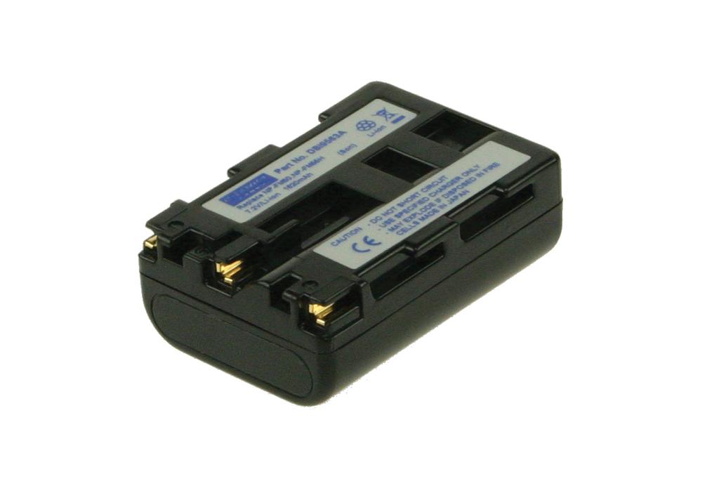 2-Power Digital Camera Battery 7.4V 1600mAh