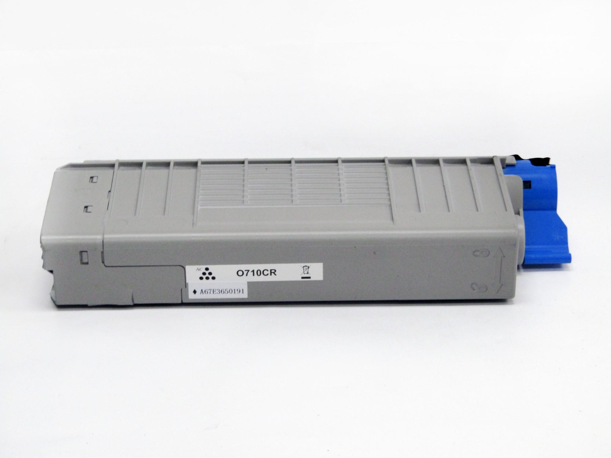 Remanufactured OKI 44318107 Cyan Toner Cartridge