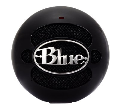 Blue Microphones Snowball Notebook microphone Wired Black