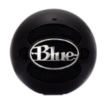 Blue Microphones Snowball Notebook microphone Black