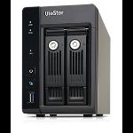QNAP VS-2208PRO+ Storage server Tower Ethernet LAN Black storage server