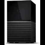Western Digital My Book Duo disk array 16 TB Desktop Black