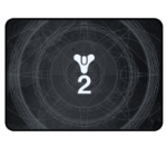Razer Destiny 2 Goliathus Medium Speed Gaming mouse pad Black, White