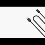 Cygnett 3m, Lightning/USB-A 3m USB A Lightning Black mobile phone cable