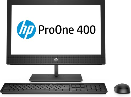 "HP ProOne 400 G5 50.8 cm (20"") 1600 x 900 pixels 9th gen Intel® Core™ i5 8 GB DDR4-SDRAM 256 GB SSD Wi-Fi 5 (802.11ac) Black All-in-One PC Windows 10 Pro"