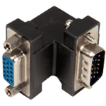 Cablenet GENCHR/A 15MF cable interface/gender adapter HD15 Black