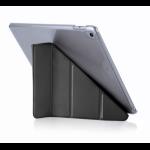 """Pipetto Origami Luxe 9.7"""" Folio Black, Transparent"""