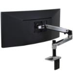 "Ergotron LX Series Desk Mount LCD Arm 86.4 cm (34"") Black"