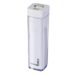 URBAN FACTORY Easy Emergency Universal Rechargeable 2000mAh Battery for Portable Devices, 1A Output, White (BCA25U