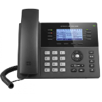 Grandstream Networks GXP1782 IP phone Black Wired handset LCD 8 lines