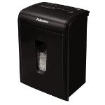 "Fellowes MicroShred 10MC paper shredder Micro-cut shredding 8.98"" (22.8 cm) Black"