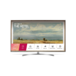 "LG 49UU761H hospitality TV 124.5 cm (49"") 4K Ultra HD 400 cd/m² Silver Smart TV 20 W"