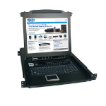 Tripp Lite NetDirector 16-Port 1U Rack-Mount Console KVM Switch with 17-in. LCD