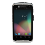 "Zebra TC55 4.3"" Touchscreen 220g Black,Silver handheld mobile computer"